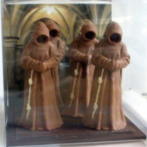 Ghostly Monks