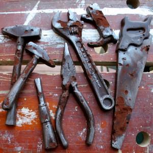 Chocolate Rusty Tools